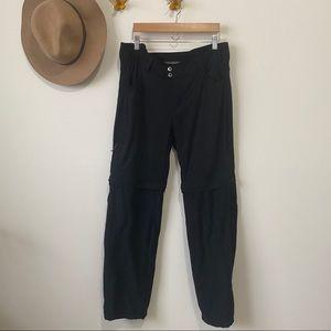 Columbia   zip off hiking pants black